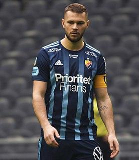 Jesper Karlström Swedish footballer