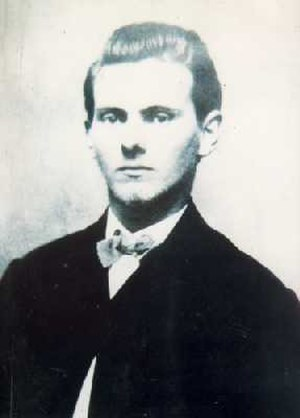 Jesse James - James as a young man