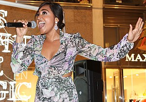 Jessica Mauboy - Mauboy performing in 2012