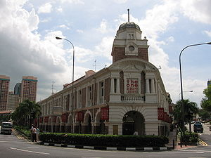 Tanjong Pagar - The Jinricksha Station is Singapore's last reminder of the once ubiquitous rickshaw.