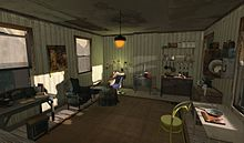 Jo Yardley at home in The 1920s Berlin Project, part of the virtual world Second Life