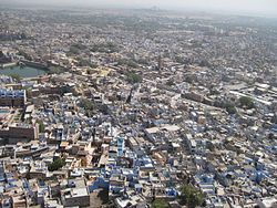 Jodhpur's bird eye view.JPG