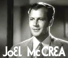 L'actor estatounitense Joel McCrea, en una scena d'a cinta Woman Wanted (1935).