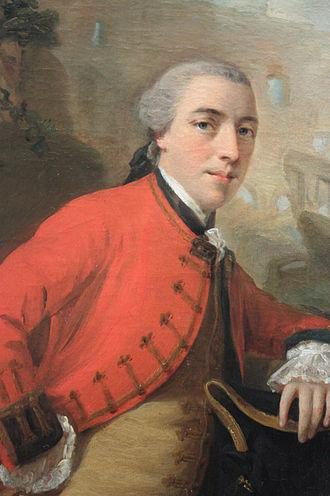 John Burgoyne - John Burgoyne, 1758, (after Allan Ramsay)