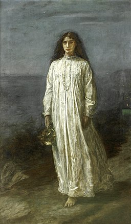 John Everett Millais, The Somnambulist
