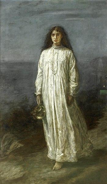 File:John Everett Millais, The Somnambulist.jpg