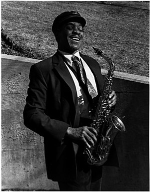 John Jenkins (jazz musician) - Jenkins in Central Park, NYC in 1992 (Photographer: Fitz Gitler)