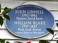 John Linnell 1792-1882 painter lived here. William Blake 1757-1827 poet and artist stayed here as his guest.jpg