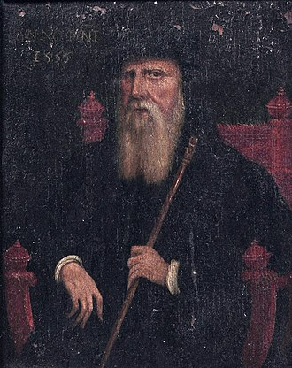 John Russell, 1st Earl of Bedford - John Russell, 1st Earl of Bedford, 1555