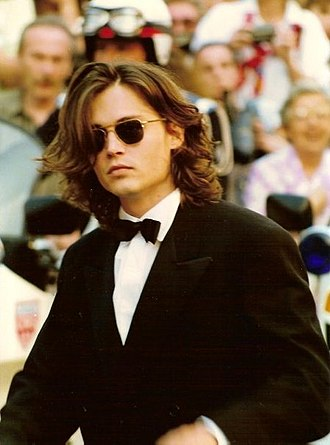 Johnny Depp - Depp at the 1992 Cannes Film Festival