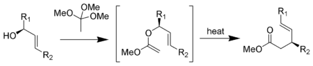The Johnson–Claisen rearrangement