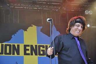 Jon English - Jon English live at Sweden Rock Festival June 8, 2013