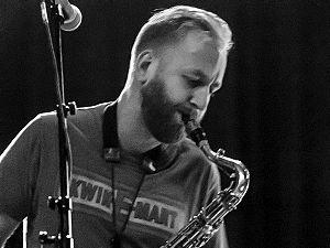 Jonas Kullhammar - Jonas Kullhammar at U Jazz festival in Aarhus, Denmark 2014