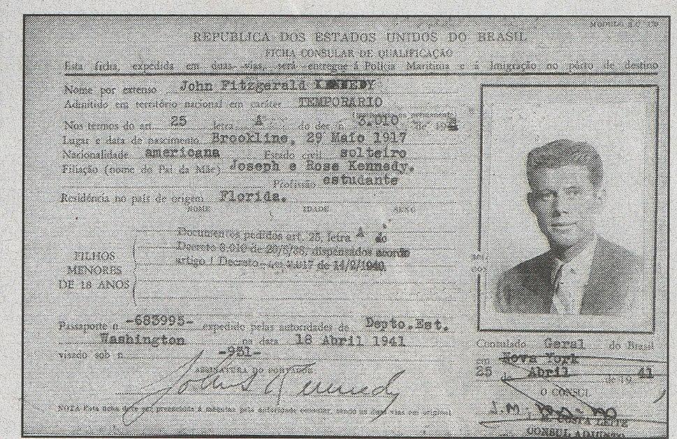 Jonh F Kennedy no Brasil