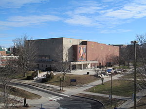 Jorgensen Center for the Performing Arts - Image: Jorgensen Center for the Performing Arts, U Conn, Storrs CT