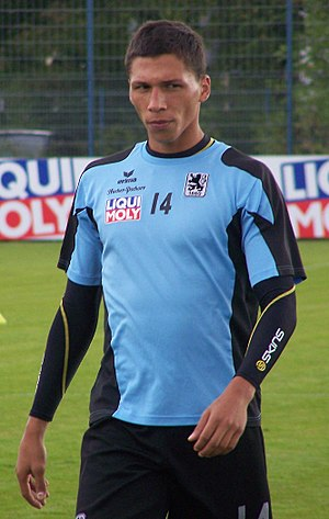 José Holebas - Holebas training with 1860 München in 2009