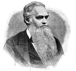 Brown & Sharpe - Joseph R. Brown, 1886 engraving.