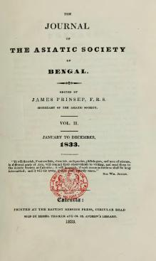 Journal of the Asiatic Society of Bengal Vol 2.djvu