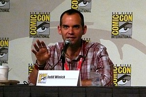 Judd Winick - Winick at the 2010 San Diego Comic-Con