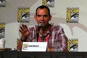 Judd Winick - Winick at the 2010 San Diego Comic-Con