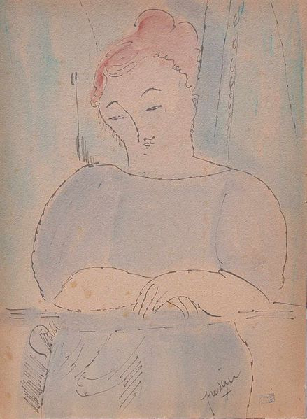 File:Jules Pascin Thinking.jpg