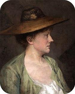 BECK Julia Portrait of a Woman, 1881