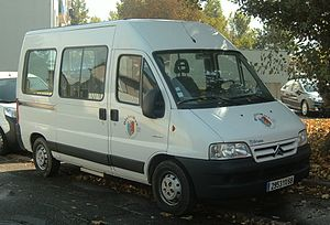 Minibus - Citroen Jumper minibus