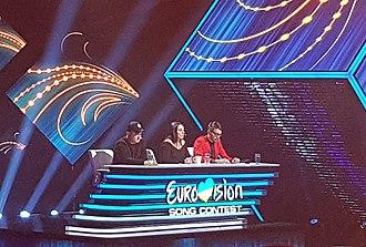 Ukraine in the Eurovision Song Contest 2019 - Image: Jury Vidbir 2018 (cropped)