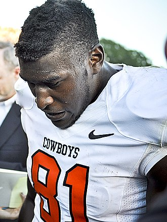 Justin Blackmon - Blackmon with the Oklahoma State Cowboys in 2011