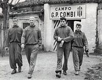 Juventus 1957-58 - Training Session - Charles, Broćić, Mattrel, Stacchini.jpg