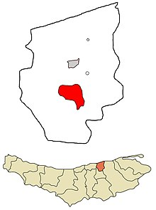 Juybar County Incorporated Areas Juybar highlighted.jpg