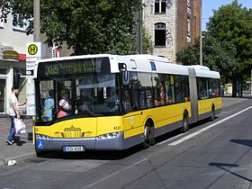 Image illustrative de l'article Liste des lignes de bus de Berlin
