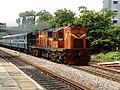 KCG-Nizamabad Passenger at Alwal 01.jpg