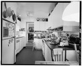 KITCHEN, LOCATED IN WEST WING, LOOKING EAST - Westover, State Route 633, Westover, Charles City, VA HABS VA,19-WEST,1-36.tif
