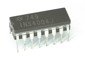 National Semiconductor INS4004 (=i4004)