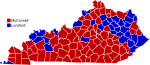 KY-USA 2008 Senate Results by County 2-color.svg