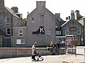 K boot sign, Esplanade, Lerwick - geograph.org.uk - 1804905.jpg