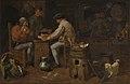 Kaartspelers en brassers, Adriaen Brouwer, 17de eeuw, Koninklijk Museum voor Schone Kunsten Antwerpen, 642.jpg