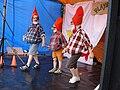 Kabouter Plop kabouterdans in playback, Dukendam Nijmegen 2007.jpg