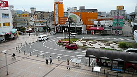 Kadoma-shi station south square.jpg