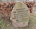 Kaiserteich Todesmarsch Gedenkstein (Osterode am Harz) 02.jpg