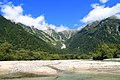 Kamikōchi, Hida Mountains range, Nagano Prefecture; September 2007 (01).jpg