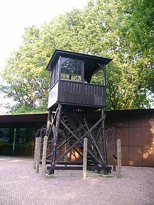 Amersfoort concentration camp - The watch tower