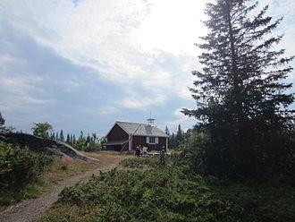 Luleå archipelago - Old chapel on Småskär