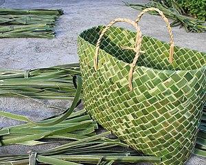Bayong - Bayong made from karagumoy