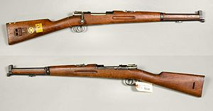 Swedish Mauser - 6,5 mm Karbin m/1894 (m/1894-14 with bayonet mount)