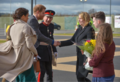 Karen Bradley MP welcomes Prince Harry and Ms. Markle as they embark on their first visit to Northern Ireland as a couple. (40969267321).png