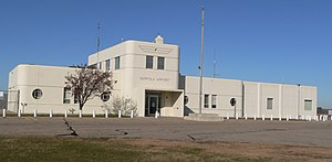 National Register of Historic Places listings in Madison County, Nebraska - Image: Karl Stefan Airport E View 1