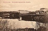 Karlskrona grenadjärregemente, kaserner