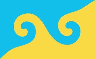 Buddhist flag - Image: Karmapa flag